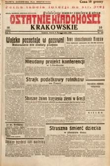Ostatnie Wiadomości Krakowskie. 1932, nr280