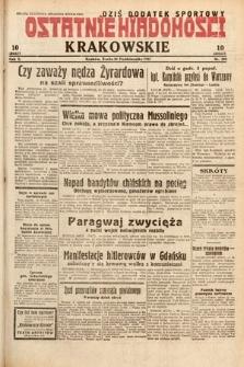 Ostatnie Wiadomości Krakowskie. 1932, nr298