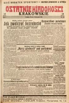 Ostatnie Wiadomości Krakowskie. 1932, nr305