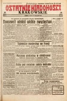 Ostatnie Wiadomości Krakowskie. 1932, nr315