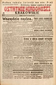 Ostatnie Wiadomości Krakowskie. 1932, nr323