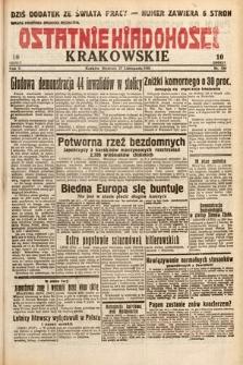 Ostatnie Wiadomości Krakowskie. 1932, nr330