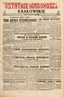 Ostatnie Wiadomości Krakowskie. 1932, nr341