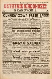 Ostatnie Wiadomości Krakowskie. 1932, nr347