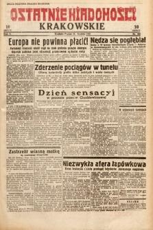 Ostatnie Wiadomości Krakowskie. 1932, nr349