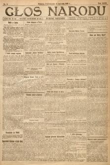 Głos Narodu (wydanie wieczorne). 1919, nr6