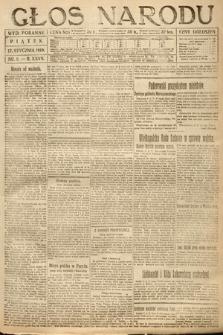 Głos Narodu (wydanie poranne). 1919, nr9