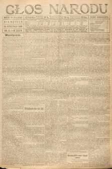 Głos Narodu (wydanie poranne). 1919, nr11
