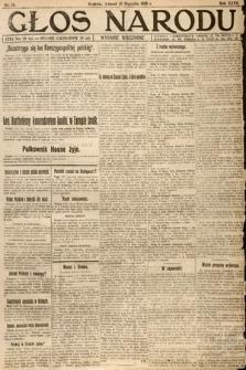 Głos Narodu (wydanie wieczorne). 1919, nr13