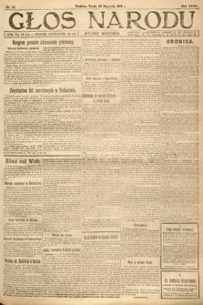 Głos Narodu (wydanie wieczorne). 1919, nr20