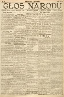 Głos Narodu (wydanie wieczorne). 1919, nr28