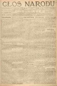 Głos Narodu (wydanie poranne). 1919, nr29