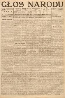 Głos Narodu (wydanie poranne). 1919, nr34