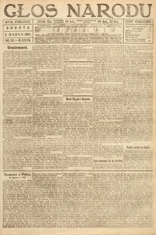 Głos Narodu (wydanie poranne). 1919, nr52