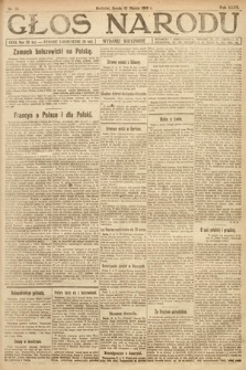 Głos Narodu (wydanie wieczorne). 1919, nr56