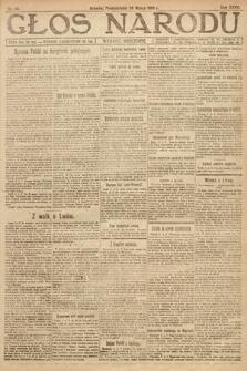 Głos Narodu (wydanie wieczorne). 1919, nr66