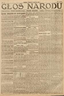 Głos Narodu (wydanie wieczorne). 1919, nr74