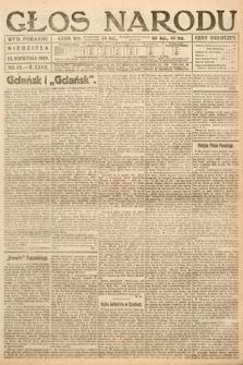 Głos Narodu (wydanie poranne). 1919, nr82