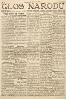 Głos Narodu (wydanie wieczorne). 1919, nr92