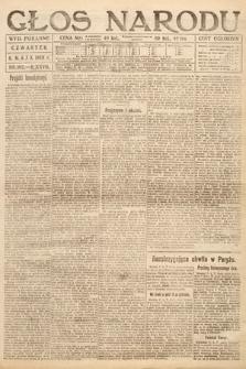 Głos Narodu (wydanie poranne). 1919, nr102