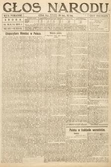 Głos Narodu (wydanie poranne). 1919, nr107