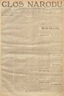 Głos Narodu. 1919, nr160