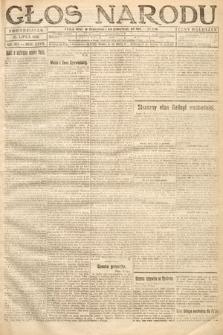 Głos Narodu. 1919, nr163