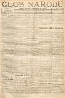 Głos Narodu. 1919, nr172