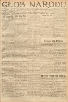 Głos Narodu. 1919, nr203