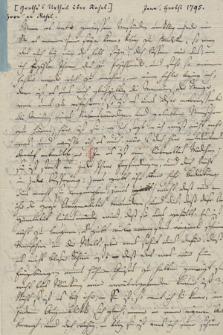 Autografy dr. Horna z Jeny i inne materiały z nim związane