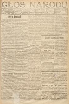 Głos Narodu. 1919, nr252