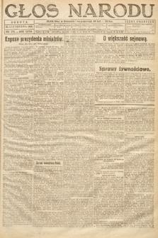 Głos Narodu. 1919, nr278