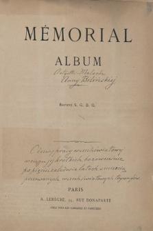Mémorial Album