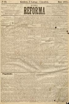 Nowa Reforma. 1883, nr25