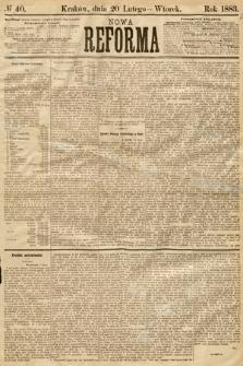 Nowa Reforma. 1883, nr40