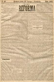 Nowa Reforma. 1883, nr45