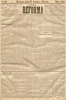 Nowa Reforma. 1883, nr46