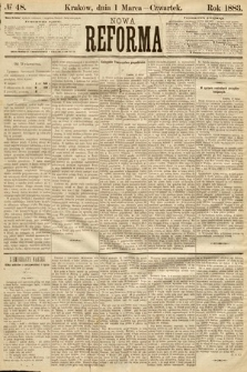 Nowa Reforma. 1883, nr48