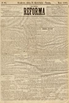 Nowa Reforma. 1883, nr81