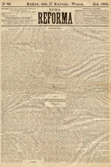 Nowa Reforma. 1883, nr86
