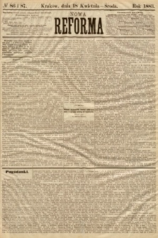Nowa Reforma. 1883, nr86 i 87