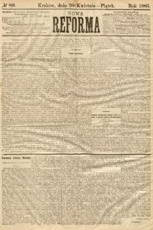 Nowa Reforma. 1883, nr89