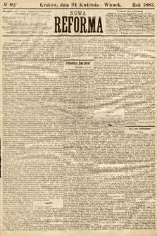 Nowa Reforma. 1883, nr92