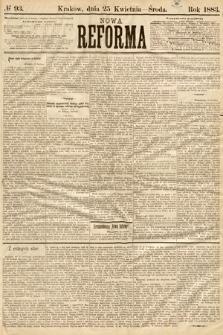 Nowa Reforma. 1883, nr93