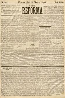 Nowa Reforma. 1883, nr105