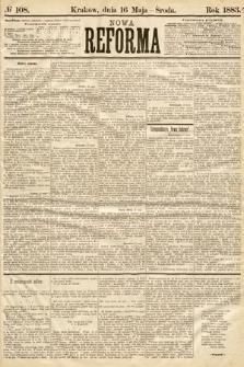 Nowa Reforma. 1883, nr108