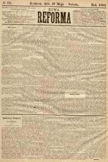 Nowa Reforma. 1883, nr111