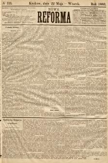 Nowa Reforma. 1883, nr113