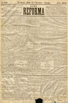 Nowa Reforma. 1883, nr143