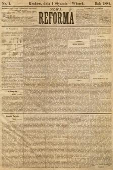 Nowa Reforma. 1884, nr1